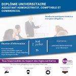 Réunion d'Information Diplôme Universitaire Assistant Administratif, Comptable et Commercial