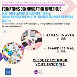 Formations Communication Numérique : Réunions d'information en Visio